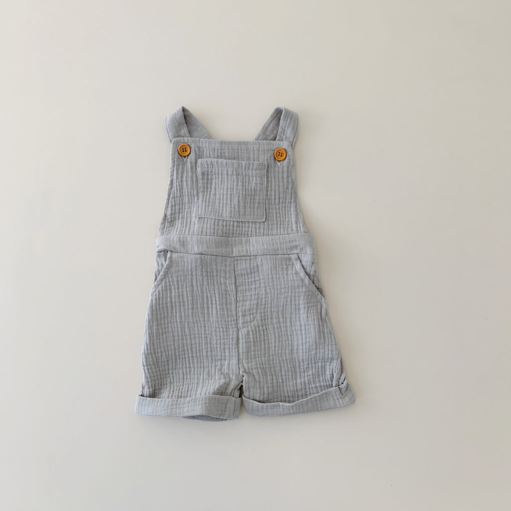 Lenny Playsuit - Stone - Di Moda Kids