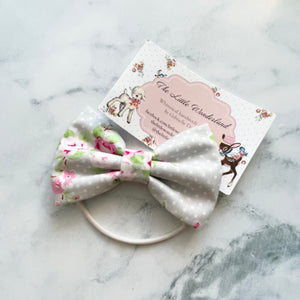 Handmade hair bow