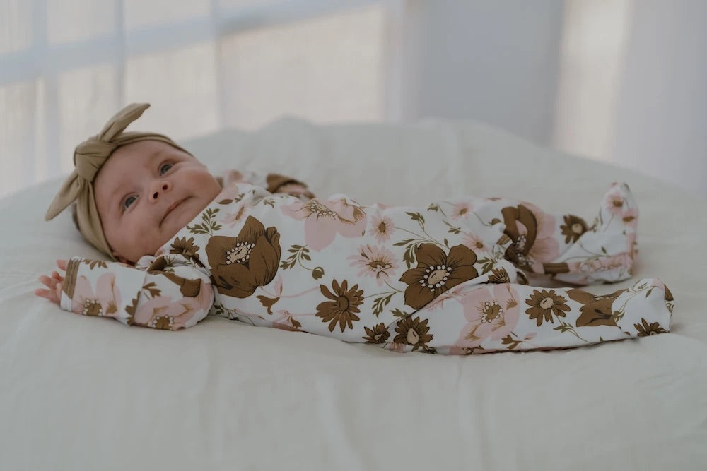 Vintage Bloom Onesie