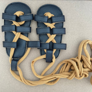 Vegan Leather sandals  (18 months)