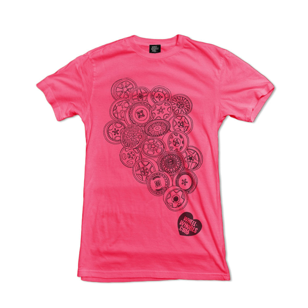 Whores Hoards (Womens T-shirt) Pink