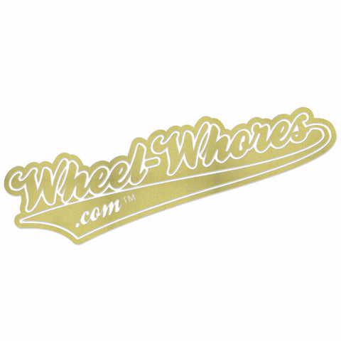 Old Skool Sticker (Gold)