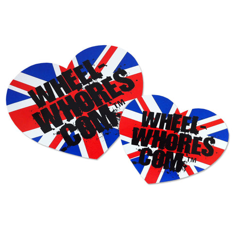 Union Jack Heart (Sticker Pack)