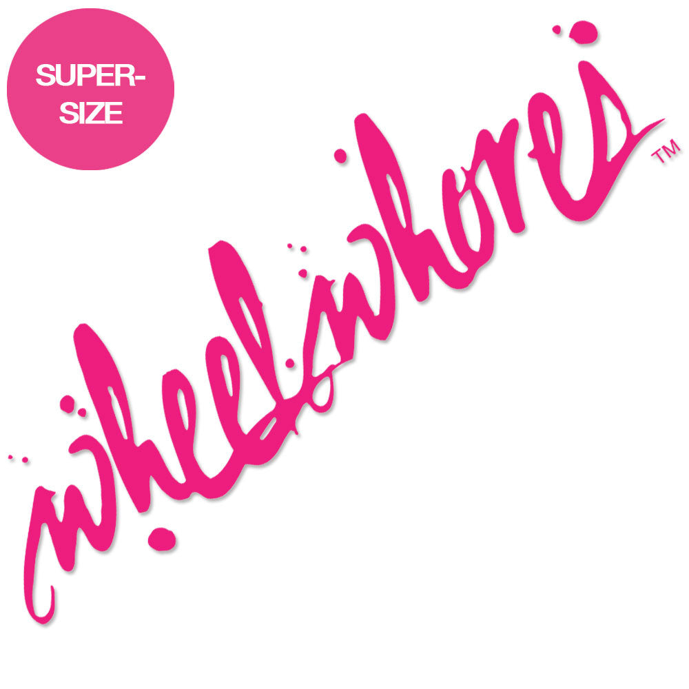 Supersize Screen Sticker (Pink)