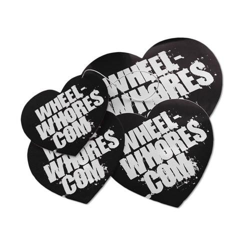 Black Sticker & Air Freshener Combo Pack