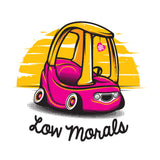 Low Morals (Womens Racerback)