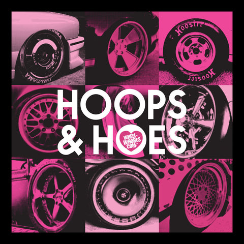 Hoops & Hoes (Womens T-Shirt)