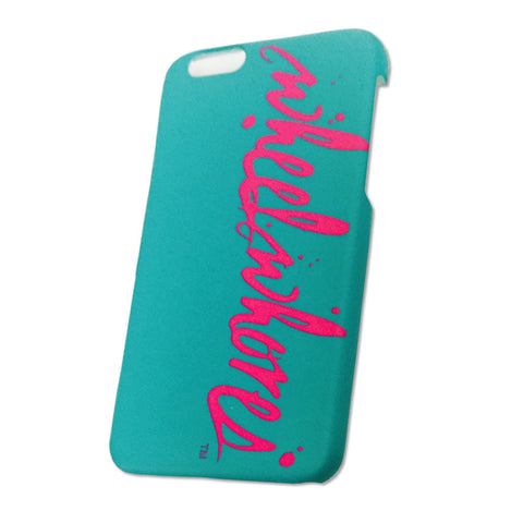 Splatter IPhone 6+ Cover (Teal)