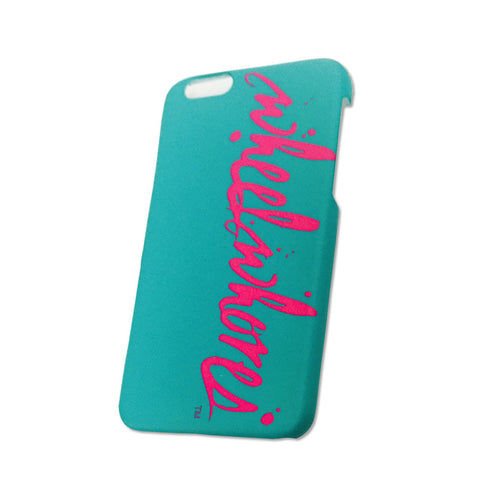 Splatter IPhone 6 Cover (Teal)