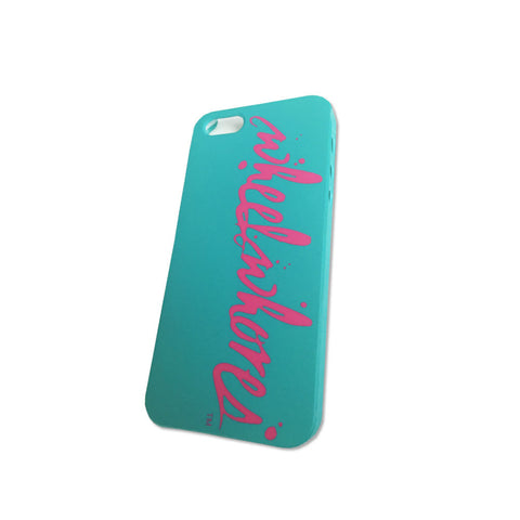 Splatter iPhone 5 Cover (Teal)