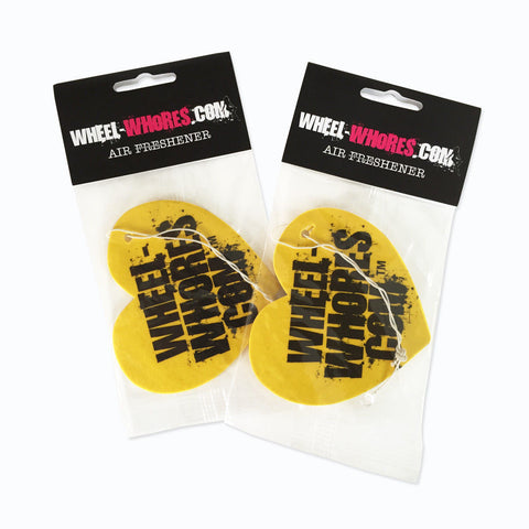 Limited Edition Yellow Heart Air Freshener Pack