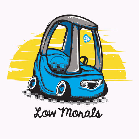 Blue Low Morals (Bib)