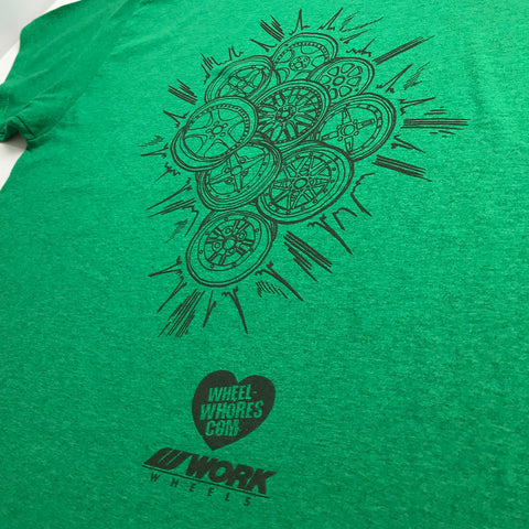 WW // Work Wheels (T-Shirt) V2 Green