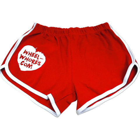 Honk If You're Horny (Red Gym Shorts)