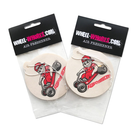 Kerb Crawler Sticker & Air Freshener Combo Pack