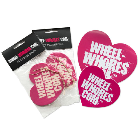 Pink Sticker & Air Freshener Combo Pack
