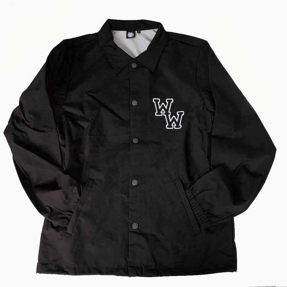 WW COACH JACKET (BLACK)