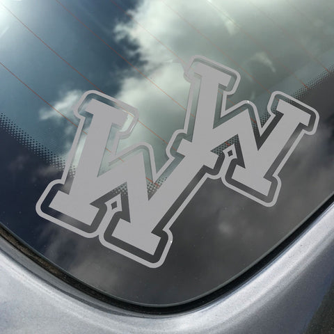 WW (Frosted Sticker)