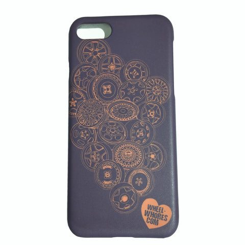 Whores Hoards IPhone 7+ Cover (Grey)