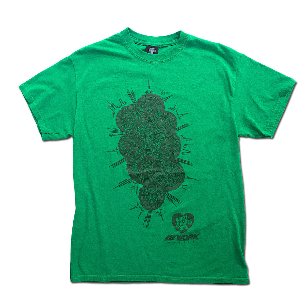 WW // Work Wheels (T-Shirt) Green