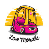 Blue/Pink Low Morals Air Freshener Pack