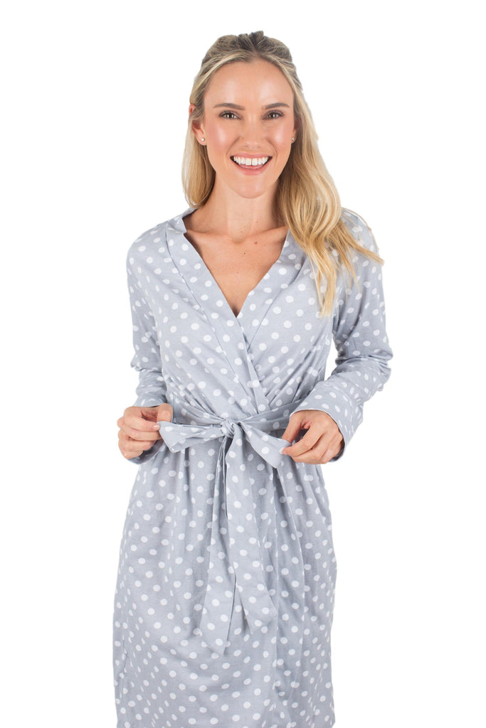 Lisa long sleeve delivery robe