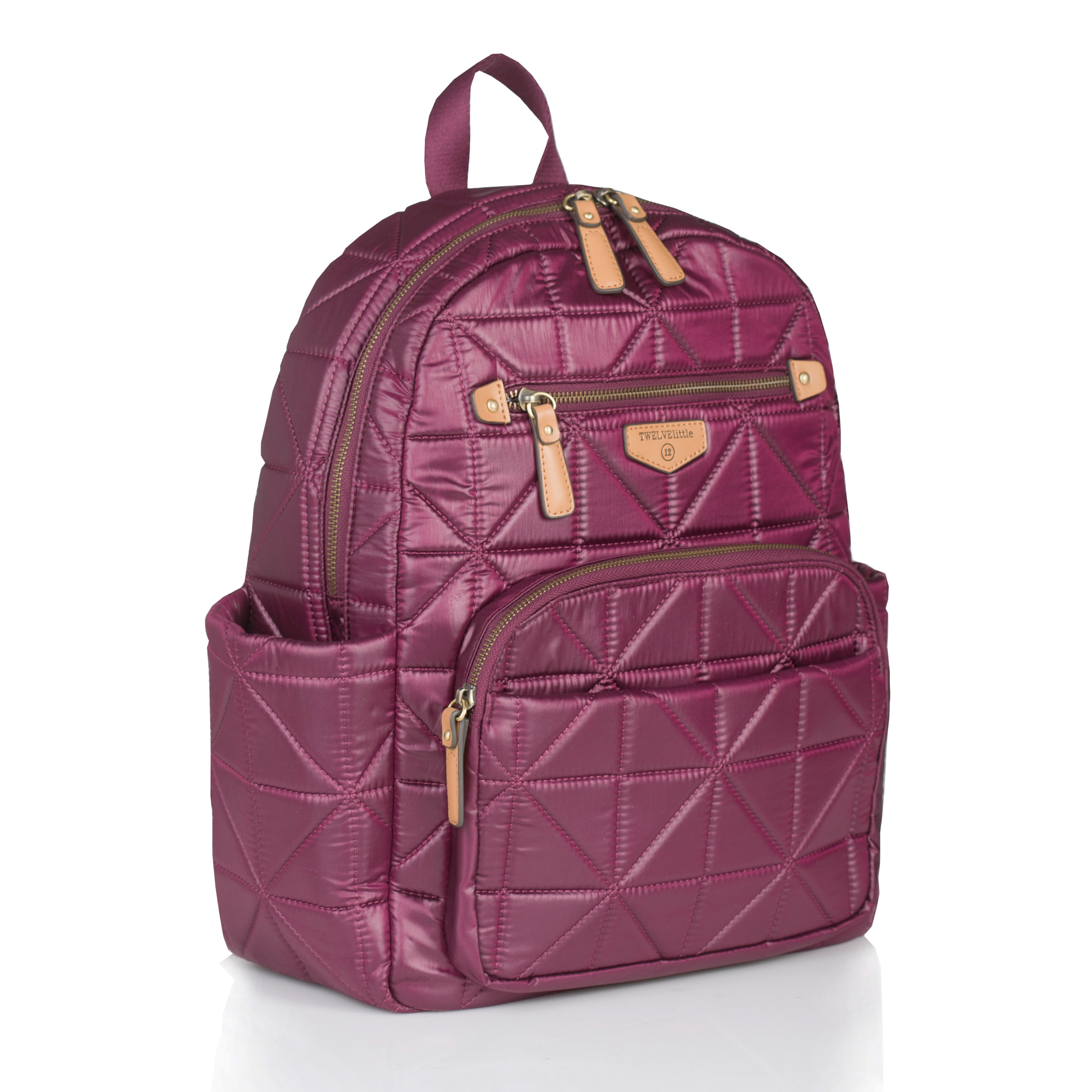 Side view of wine companion backpack