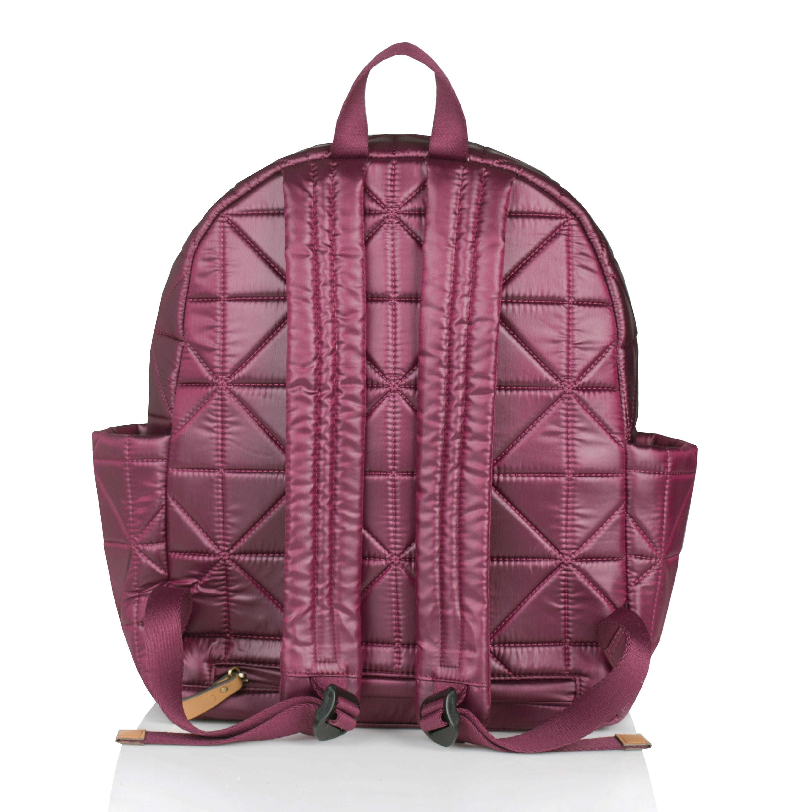 Back view of wine companion backpack
