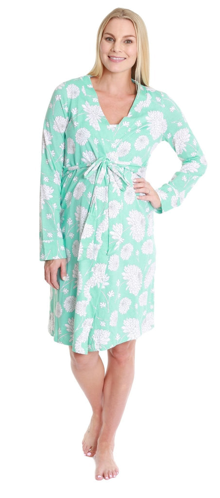Hannah maternity/nursing robe