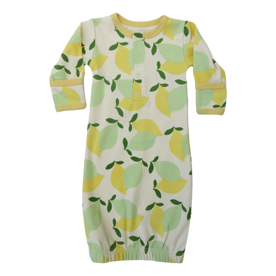 Limes over lemons gown