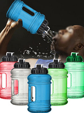 large capacity plastic sports cold water bottle 1278