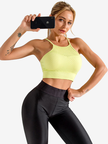 Shockproof Beauty Back Quick Drying Sprots Yoga Bra 0409001