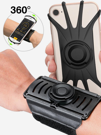Universal Rotatable Phone Wristband