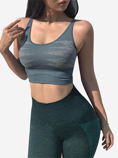 Qucik-Drying Breathable Shockproof Sports Bras 1270