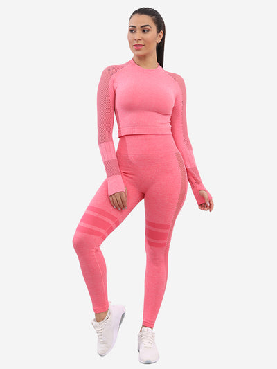 Seamless Stretch Set - Pink