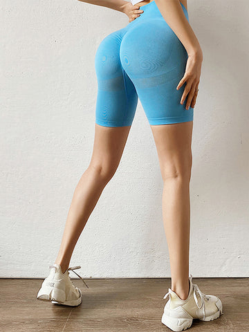 High Waist Tights Fitness Shorts
