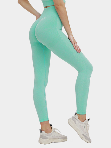 Seamless Knitted Sexy Hip Leggings 0413002