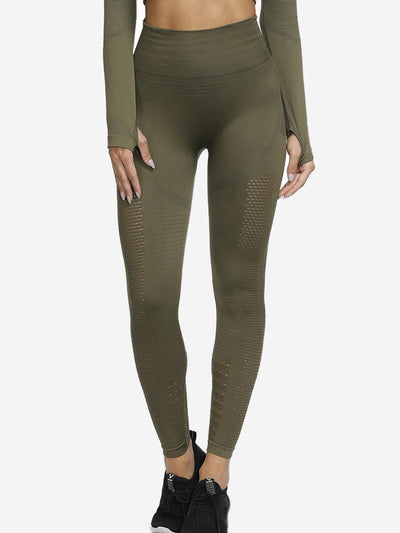 Hollow Jacquard Seamless Tight