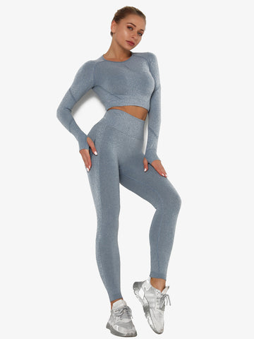 2020 Breathable Yoga Tops & Leggings Set