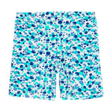Boboli été 2020 - Blue and Green shorts en tricot