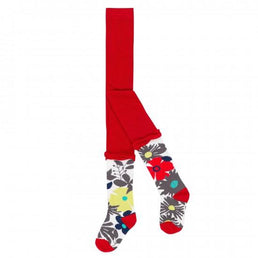 Deux par Deux Fall 2018 - A Cat in the Hat Multicolor Tights