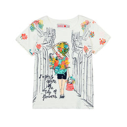 Boboli Summer 2019 - Holland Flowers T-shirt