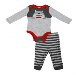 Baby Mode Fall - Two Pieces Set Woof