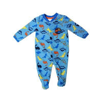 "Baby Mode Fall - Fleece Pajama ""Dino Friends"""