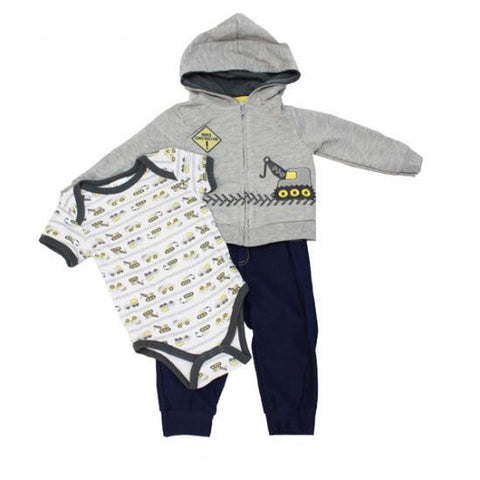 "Baby Mode Fall - Three Pieces Set ""Under Construction"""