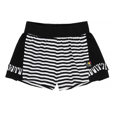 Deux par Deux Summer 2019 - A Zest of Lemon Striped Short