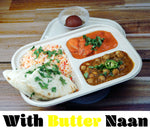 Feast w/Butter Naan {Pick and 2 Mains + Naan + Dessert + Rice}