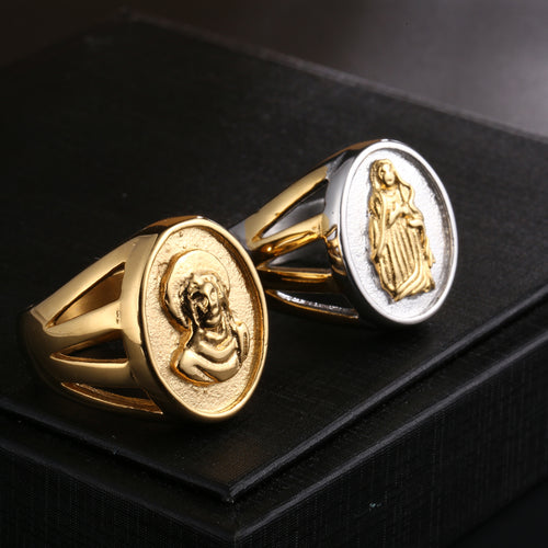Benevolent Virgin Mary Ring