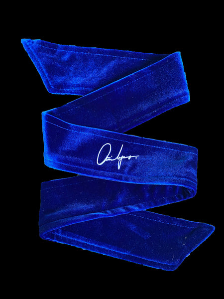 Royal Blue HeadBand Velvet