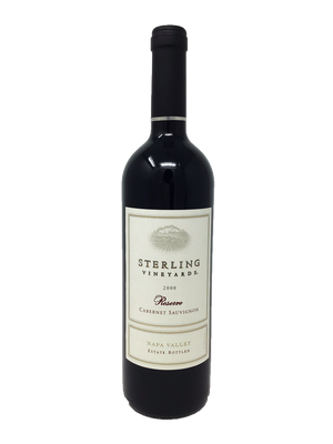 Sterling Napa Valley Reserve Cabernet Sauvignon Cabernet and Blends 2000